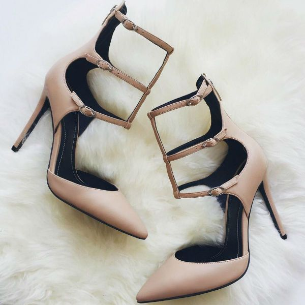 Kendall and Kylie Strap Ankle Heels