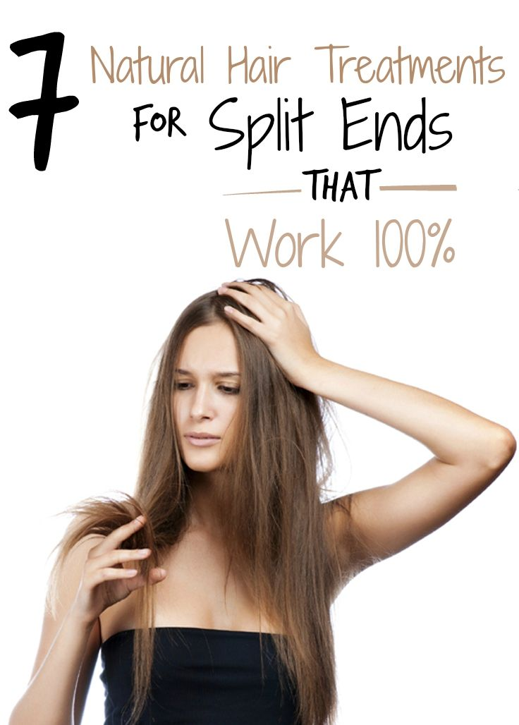 7 Natural Hair Treatments for Split Ends that Work 100% | Wellness Troupe