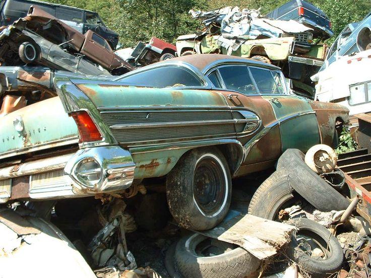 junk yard junk | Off to the Junkyard: Vehicle Scrappage Rates Soar | TheDetroitBureau ...