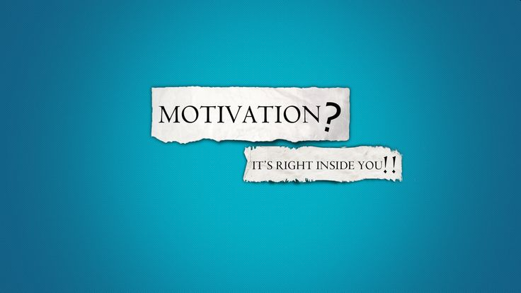 The motivation - the essential element of psychic activity and of the personality development. Whereas it is the beginning of the week