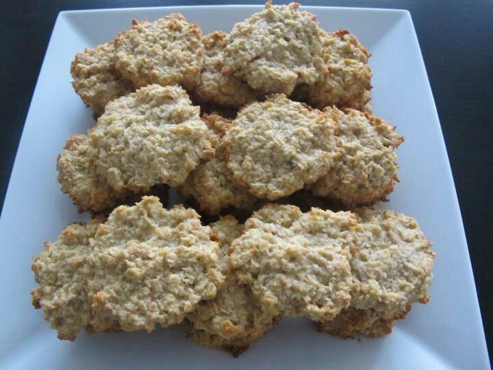 Kokosové ovesné sušenky
