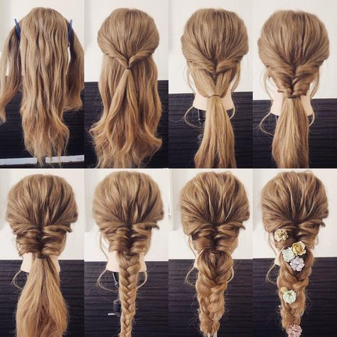 Which hairstyle fits you? #Frisuren #Lange #Rundes…