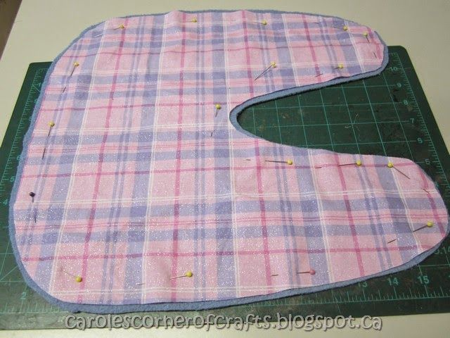 Carole's Corner of Crafts: American Girl Doll Horse Blanket Tutorial AG031