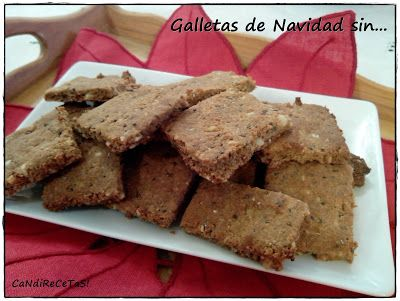 GALLETAS quinoa, almendra, sarraceno...
