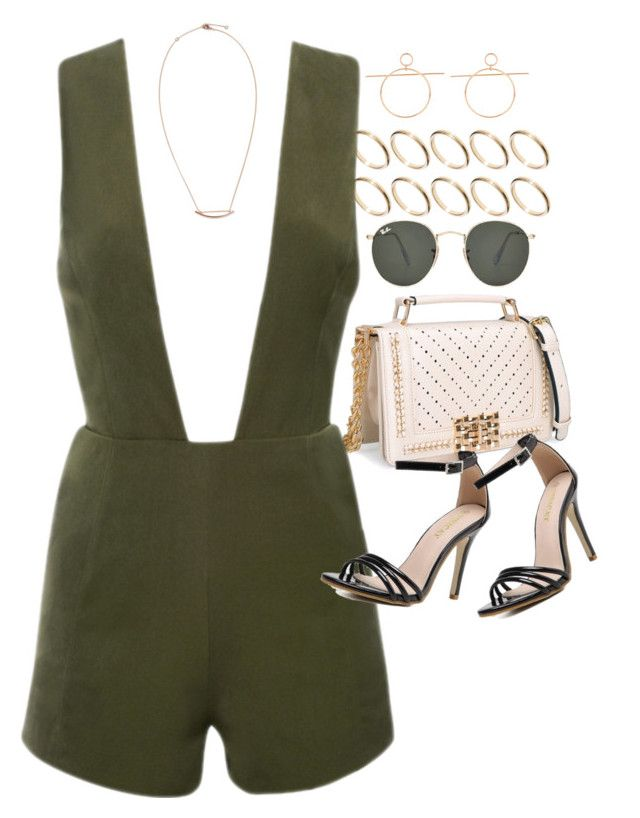 """""""Earth Chic (Zaful 11)"""" by nikka-phillips ❤ liked on Polyvore featuring ASOS and Ray-Ban"""