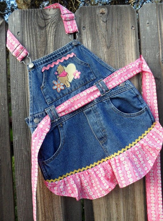 Overall Apron THis is so cute!!! :R