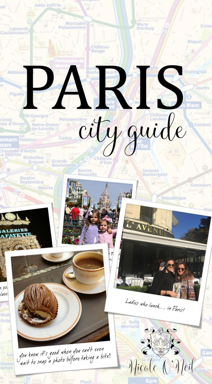 Nicole O'Neil's Complete Travel Guide to Paris, France - Find out the best places to shop, eat and explore in Paris as The Real Housewives of Sydney's Nicole O'Neil shares her firsthand experiences and travel snaps in this Paris City Guide.
