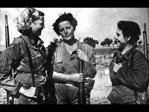 Canciones de la Guerra Civil Española: 'Si me quieres escribir'.