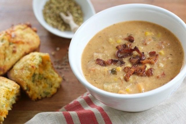 Southwestern Corn Chowder - The Soup Solution