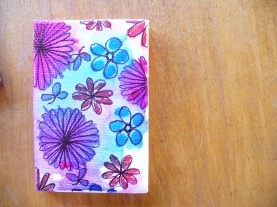 mini sharpie canvases by Sneezerville | Project | Home Decor / Decorative | Kollabora