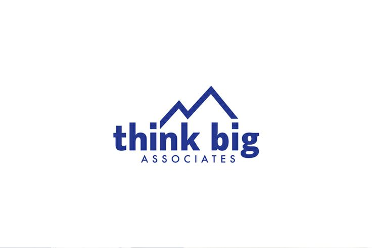 think big // Logo Design // JustinNeiser.com