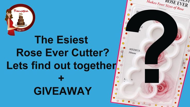 The Easiest Rose  Ever cutter? Let's find out together Review+ Giveaway