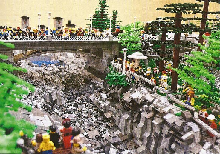 Imatran koski / Lego By Ismo Aavaharju