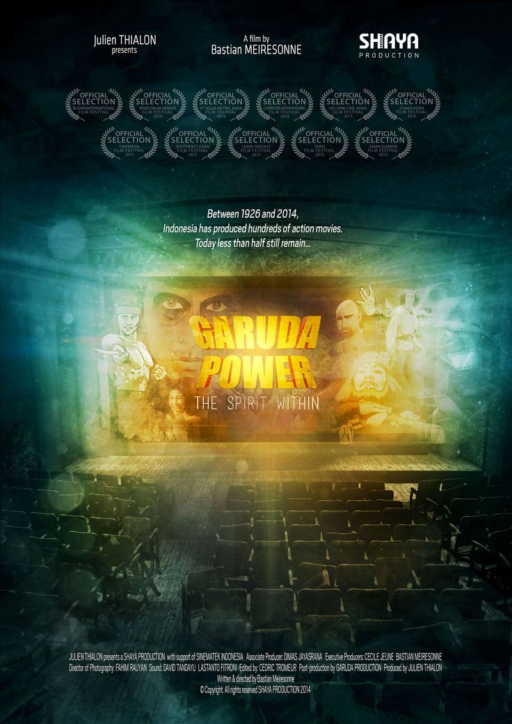 Affiche du documentaire : Garuda Power