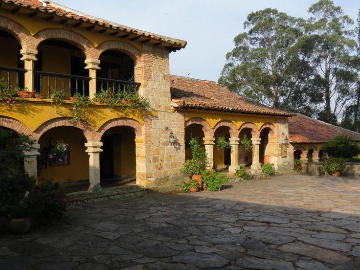 hacienda el salitre hotel, paipa,boyaca,colombia