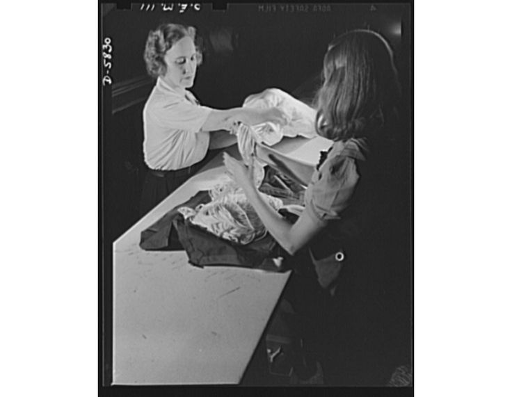 Adeline Gray, just 24, tested the 1st Nylon Parachute 75 Years Ago.