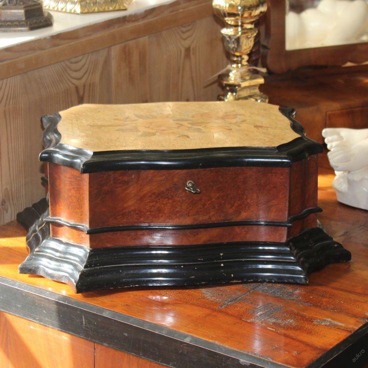 Pseudobarokní kazeta, šperkovnice (6474481145) - Aukro - největší obchodní portál