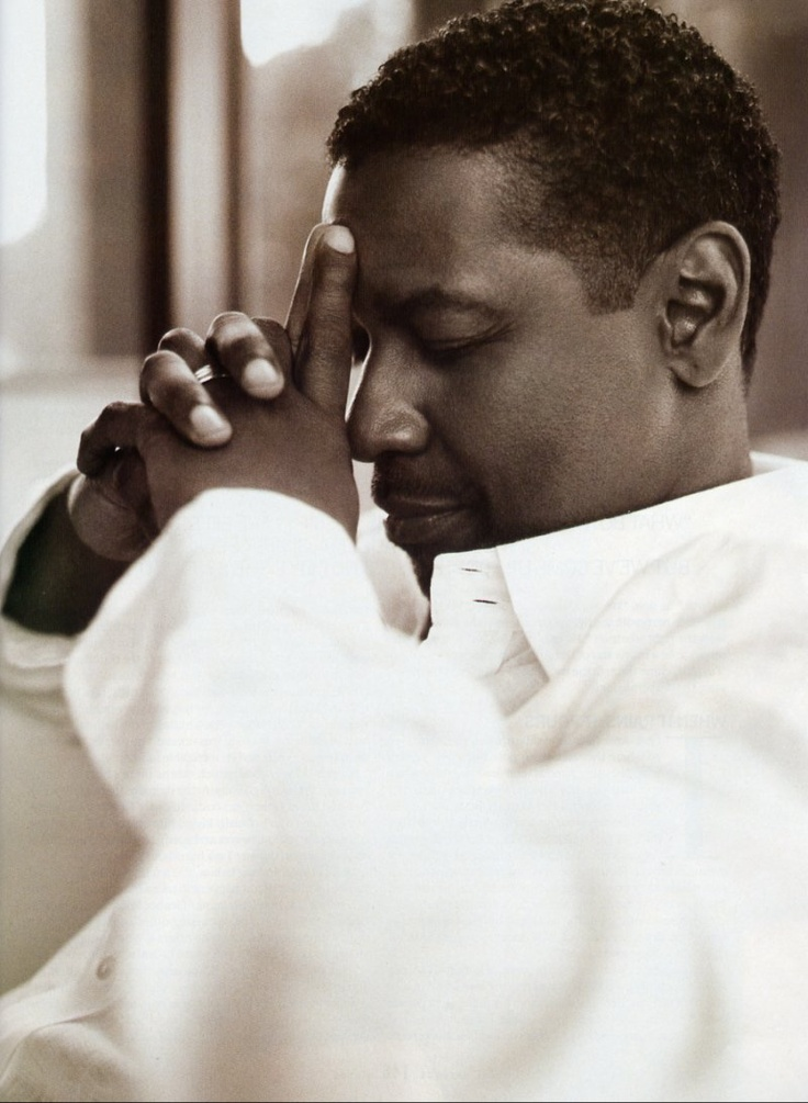 Denzel Washington photographed by Cliff Watts