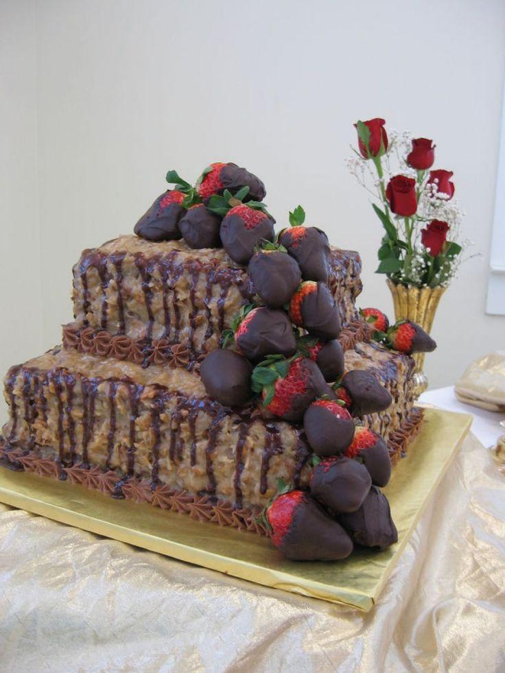 German Chocolate Grooms Cake Ideas