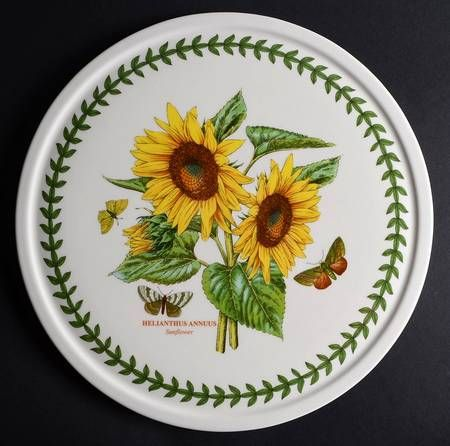 "Portmeirion Botanic Garden 12"" Entertaining Round Platter"