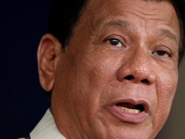 Philippines President Rodrigo Duterte says some of his family members may have joined Isis  'To be frank, I have cousins on the other side... Some, I heard, are with Isis,' says the President
