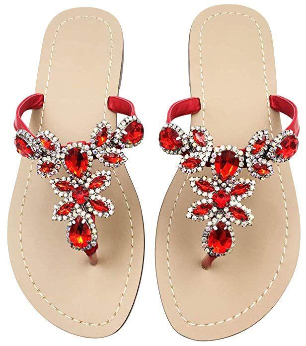 Flat Sandals Summer Flip Flops Shoes