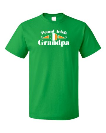 Proud Irish Grandpa   Unisex T-Shirt #annarbortees #stpatricksday #irish #shirts #unisex