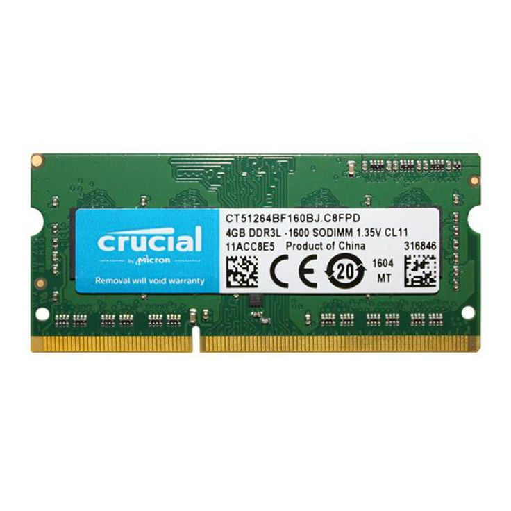 ==> [Free Shipping] Buy Best Brand New Crucial Laptop Memory Ram DDR3L 1600Mhz 1.35v 4GB for Notebook Sodimm Memoria Compatible with DDR3 4GB 1333MHz 1066Mhz Online with LOWEST Price | 32805897514