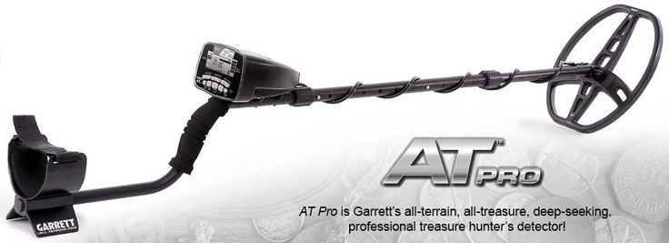 Garrett AT Pro Metal Detector   River Team Six Metal Detectors 865-679-3935