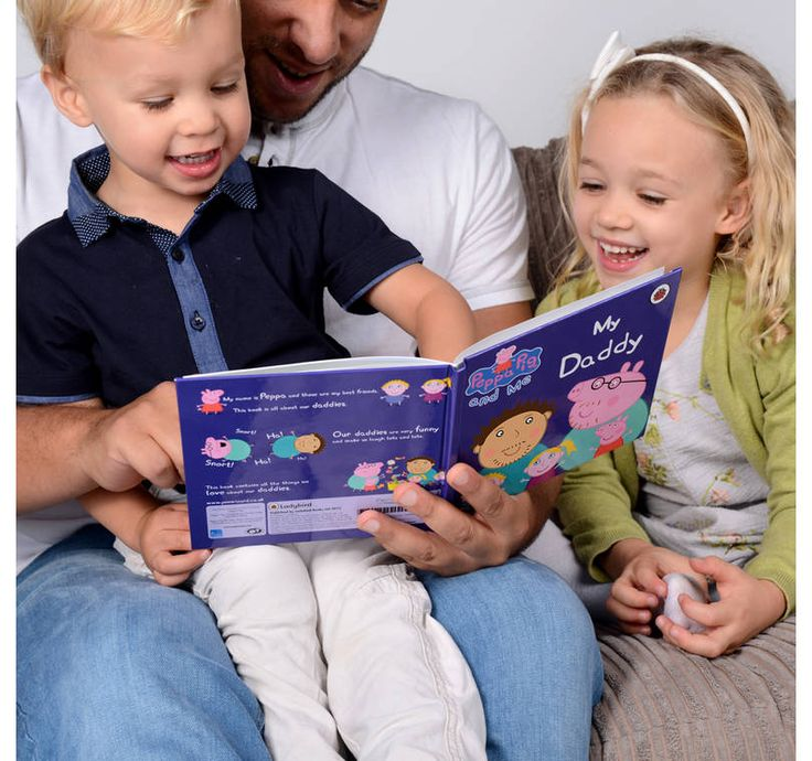 Personalised #PeppaPig My Daddy book: £14.99 + P&P. The perfect gift this Father's Day!