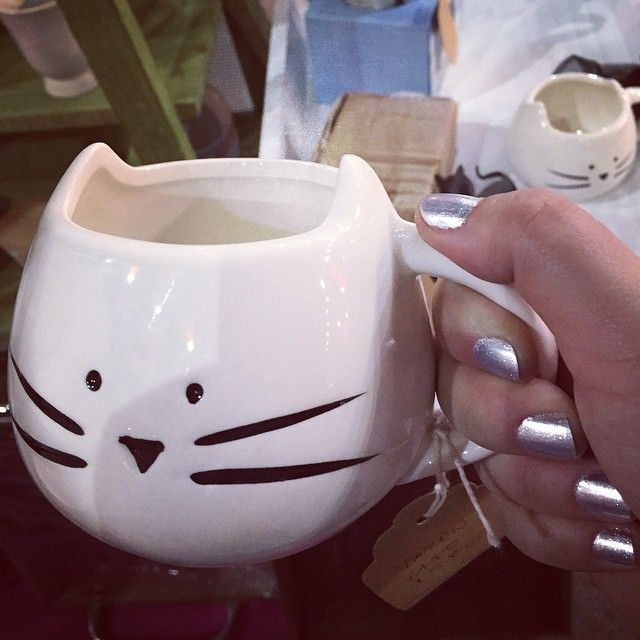 Día 24 #desafiodefotosabril #Línea de loza de gato. Me muero! La necesito!
