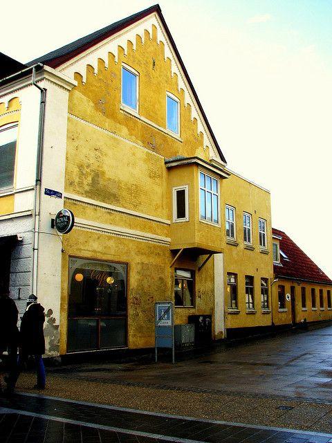 Side Street   Flickr - Frederikshavn is a Danish town in Frederikshavn municipality, Region Nordjylland, on the northeast coast of the Jutland peninsula in northern Denmark.