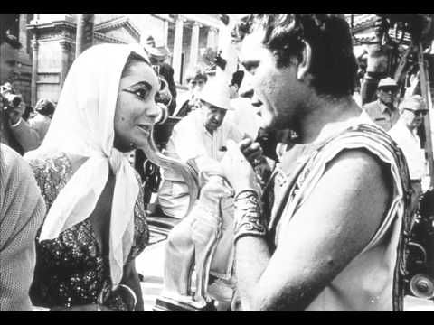Burton Taylor - set of Cleopatra- pictures
