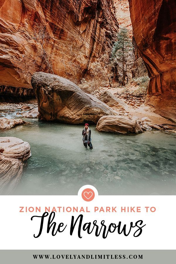 Zion National Park – The Narrows Bottom Up Hike