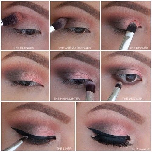 Step By Step Winged Eye Makeup Pictures, Photos, and Images for Facebook, Tumblr, Pinterest, and Twitter
