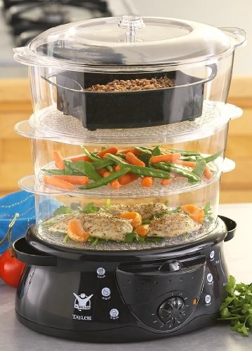 Biggest Loser 3-Tier Steamer/Rice Cooker $29.99 anything biggest loser tells me to buy I will buy it! I need this!