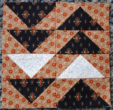 """The Monitor    Block from the book """"The Civil War Love Letter Quilt"""