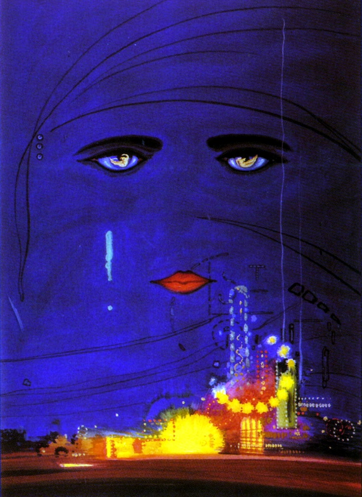 Great Gatsby Book Cover Art : The great gatsby cover art by francis cugat one of