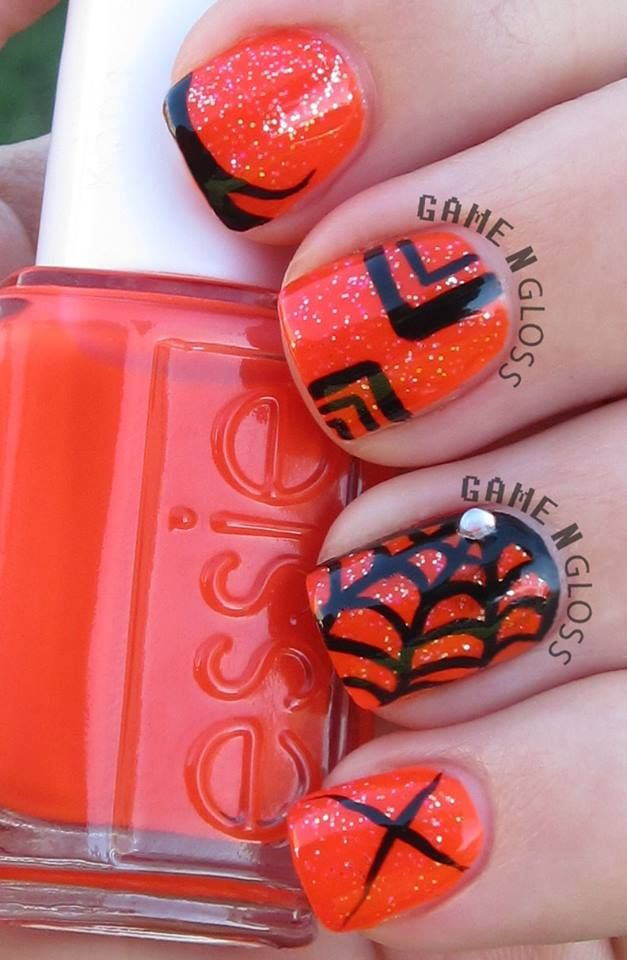 Halloween Nail Art Games : Best images about obsessed ig gamengloss nails on