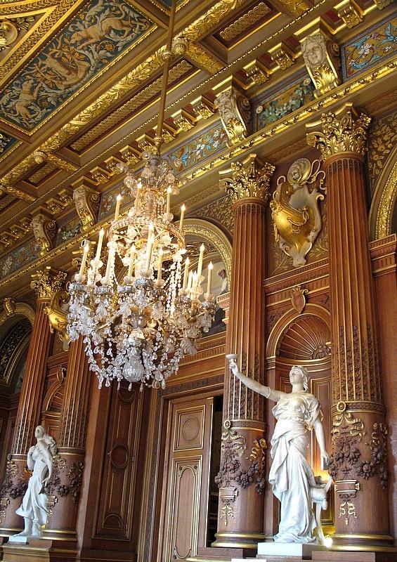 Hôtel de Ville, Inside Paris City Hall, Paris IV