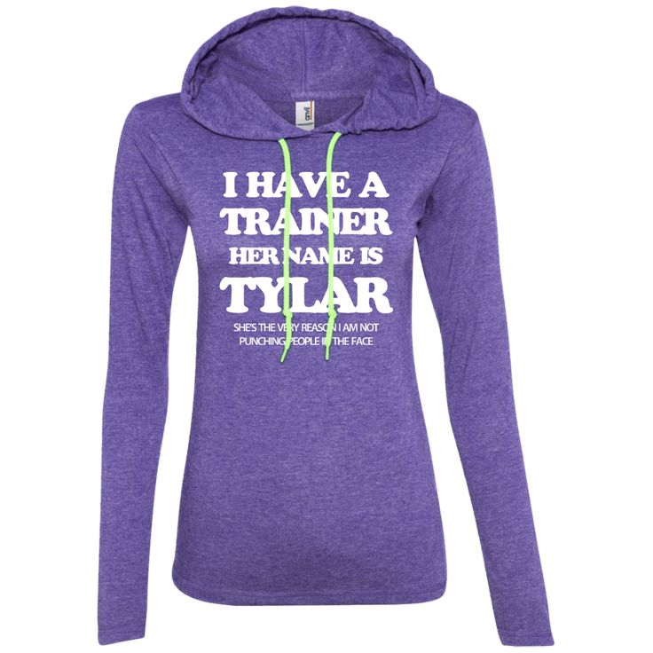 I Have a Trainer, Her Name is Tylar