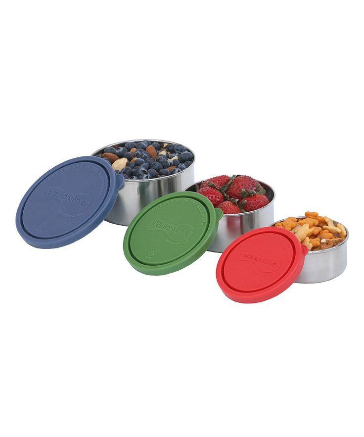 Nesting Containers....great for kids snacks.
