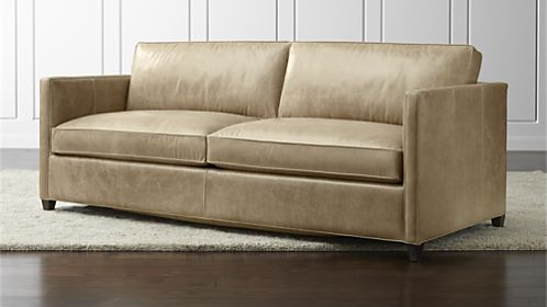 Dryden Leather Queen Sleeper Sofa Loft Leather Sofa Apartment Sofa Sleeper Sofa
