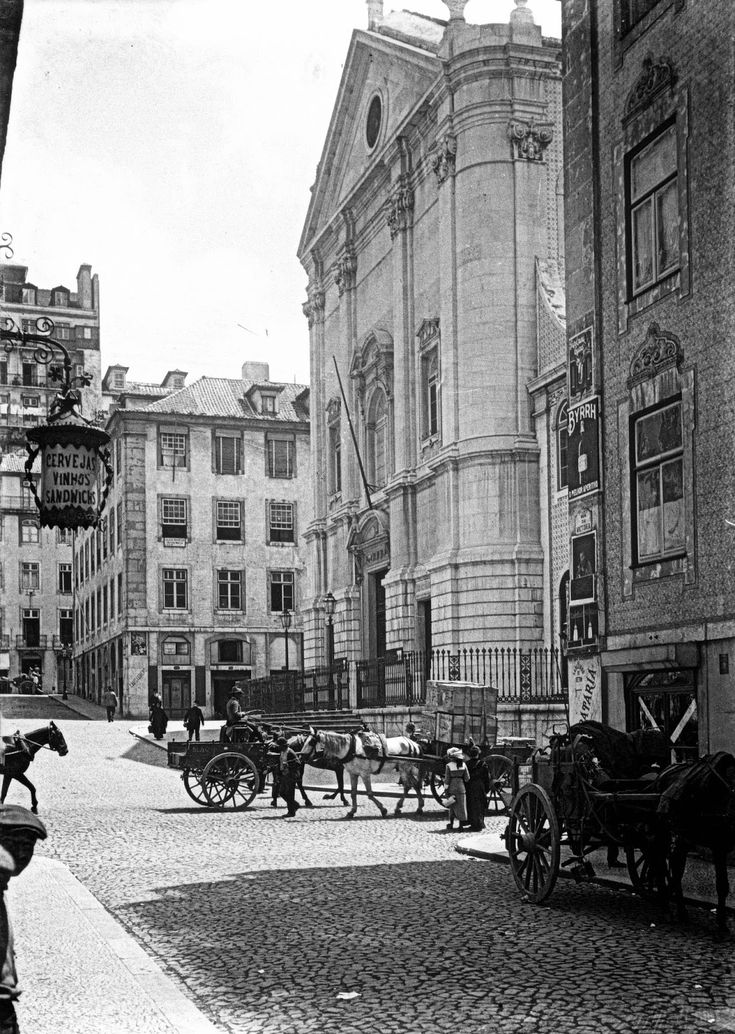 rua da Vitória, Igreja de S.Nicolau, 1910