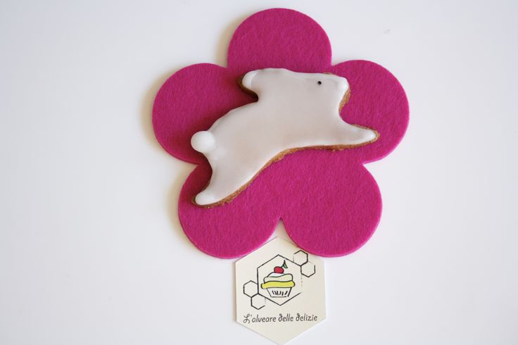Biscotti white bunny: #pasqua #biscotti #glassa #coniglio