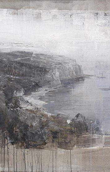 Alexey Alpatov, port bou, 2009 (detail) - mixed media on canvas, 140/180cm