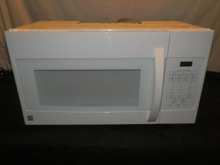 Kenmore 1 6 Cu Ft Over The Range Microwave Hood Combination 85032