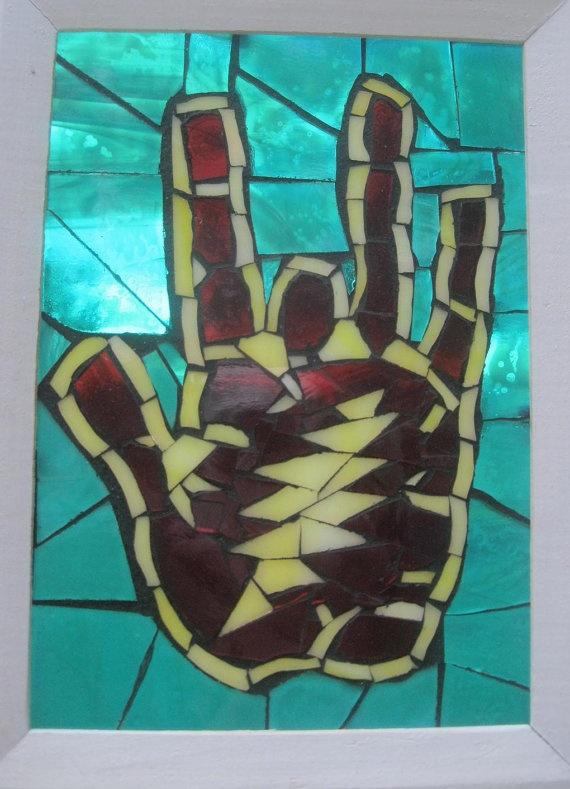 Mojo Hand by gratefuljoey on Etsy, $40.00