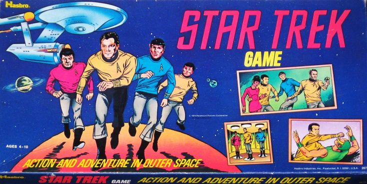 John Kenneth Muir's Reflections on Cult Movies and Classic TV: Star Trek Week: Star Trek Board Game ( Hasbro; 1974)