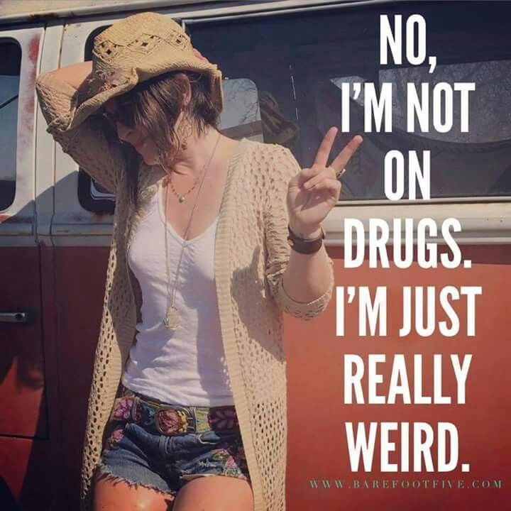 ☮ American Hippie ☮ Just Weird